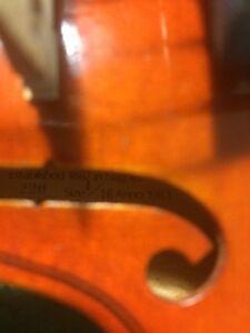 Suzuki 1/16 violin Gatineau Ottawa / Gatineau Area image 2