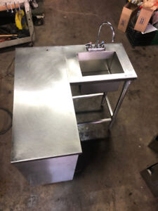 RESTAURANT CORNER SINK FOR SALE