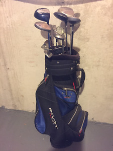 Men's Golf Clubs and Bag