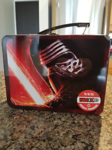 FanExpo Toronto Star Wars Kylo Ren Lunch Box