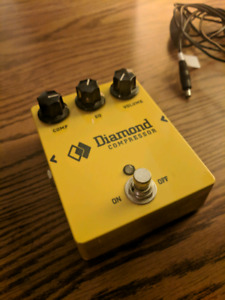 Diamond Guitar Pedals CPR1 Drive Compressor