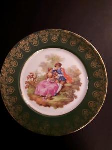 Assiette décorative - Limoges - Decorative Plate