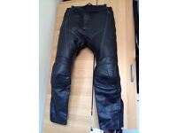 Lewis leather men's trousers size waist UK38 EURO 58. Originals designed and developed in the Uk