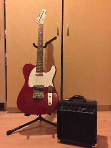 Fender Squier Telecaster Pack with Amp