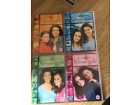 Gilmore girls 1,2,4 and 5