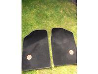 Pair MGTF footwell mats