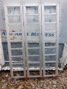 1500 IB 77X50 IN TRI FOLD ALUMINUM ATV SNOWMOBILE RAMP