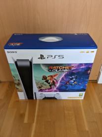 Sony PlayStation 5 Disc Console Bundle: Ratchet & Clank