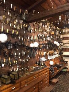 Luminaires antique / appliques murales / antiques lights sconces