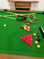 Pool & Snooker Table