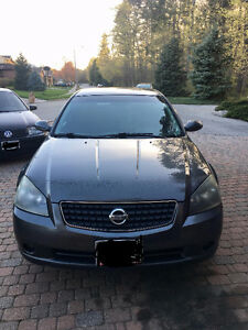 2005 Nissan Altima Sedan - Great Condition