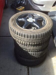 Acura integra winter tires....90% thread remaining