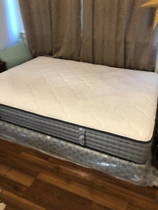Queen Size Mattress and Box Spring, Less than a Year old!