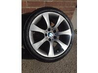 BMW genuine alloys and tyres