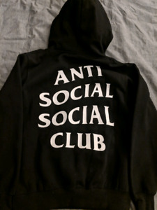 Anti social social club hoodie ASSC size Small