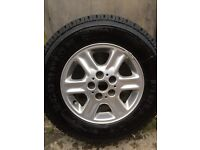BRAND NEW PIRELLI TYRE AND ALLOY