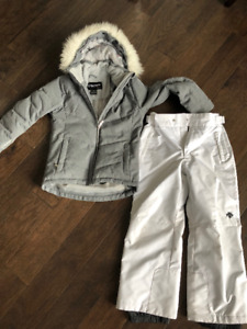 Girls Ski Jacket and Snow pants Size 10