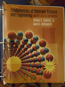 Materials Science Engineering Callister 3E