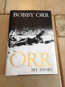 BOBBY ORR--MY STORY-reduced in price