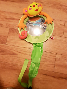 Fisher Price Rear View Mirror for the Car - jungle