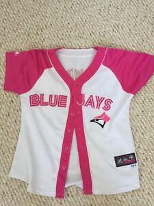 Pink Blue Jays jersey
