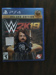 Wwe 2k19 ps4 deluxe edition