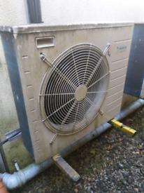 Daikin Altherma heat exchanger hot water boiler