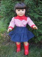 American Girl Doll western outfits