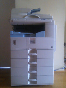 Ricoh Brand MP2000 Mutli-function Photocopier 11x17 Print/Scan/Fax