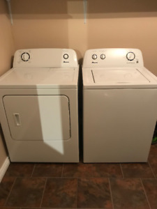 Amana Washer and Dryer Combo
