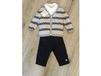 Emile et Rose baby boys 3 piece outfit BNWT 6 months special occasion wear