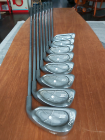 (1) ONE INCH LONGER SHAFTS FOR TALLER GOLFERS ping isi irons 4-SW