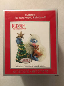 """""""RUDOLPH THE RED-NOSED REINDEER"""" American Greetings Ornament"""