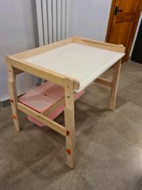 Kids IKEA desk