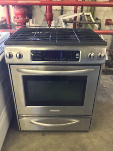 "31"" Stainless Steel Gas Stove Range"