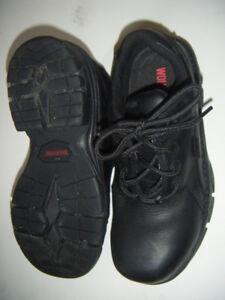 Women Wolverine steel toed shoes  .