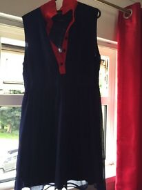Peter Pan collared dress size 14