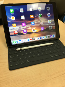 iPad Pro 10.5 256GB LTE with Pencil and Keyboard