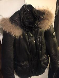 Mens Authentic Rudsak (Medium) Leather Winter Jacket