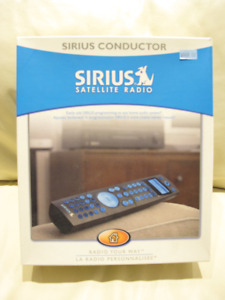 GARAGE CONTENT MOVING SALE - SIRIUS CONDUCTOR RADIO (Brand New)