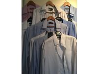 11 m&s men's shirts. 16.5 collar