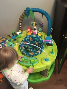 Life in the Amazon exersaucer