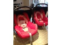 Maxi Cosi Cabrio (two available for twins)