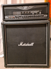 Guitar amplifier - Peavey vk100 head with 200W Marshall Cab