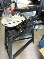 scroll saw- variable speed - 16 inch