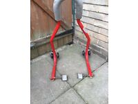 Moter cycle paddock stand