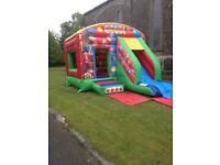 Circus combo bouncy castle - great condition