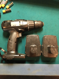 Power Drill With 2 Batteries. Please Contact.
