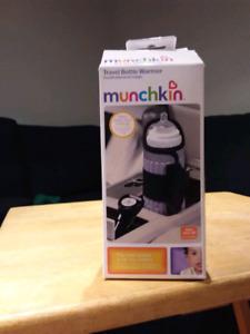 Chauffe biberon de voyage par Munchkin NEUF