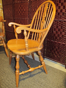 Roxton Solid Maple Arm Chair